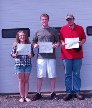 2012 Totman Scholarships